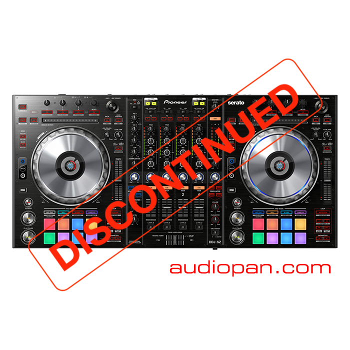 Discontinued-Pioneer-DDJ-SZ-Black
